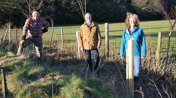 Gary Hurlstone of NexGen Tree Shelters was interviewed for Channel 5 Escape To The Farm, by Kate Humble and Ludo Graham